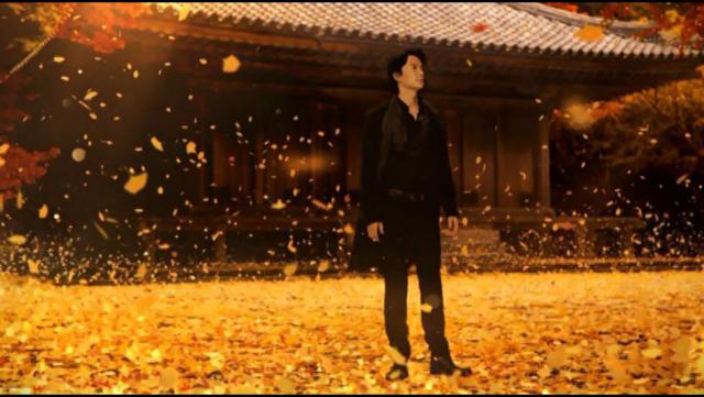 福山雅治於富貴寺大堂前拍的 アサヒビール 啤酒 CM 廣告畫面